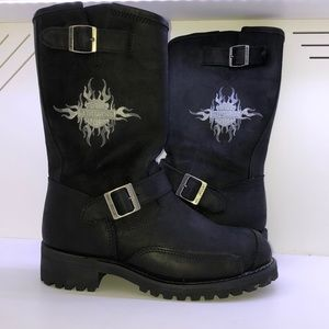 Women's Harley Davidson Motorcycle Boots size 8.5